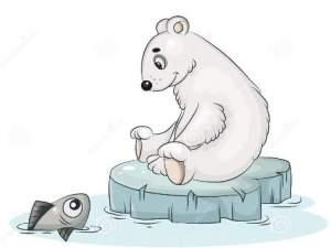 Hikayat Beruang dan Ikan Kecil